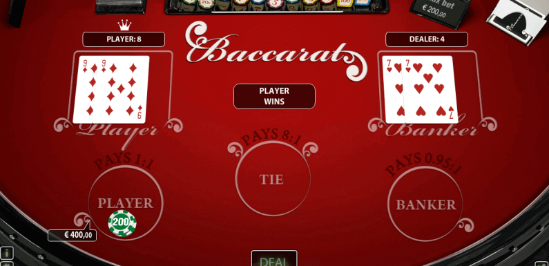 How to play Mini Baccarat?